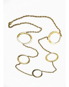 Pre-Columbian Narino Nose Rings  Necklace