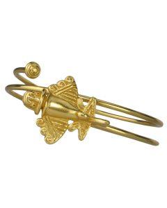 Pre-Columbian Golden Jet-3 Bracelet by Across The Puddle