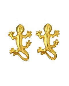 Tairona Tiny Lizard Stud Post Back Earrings