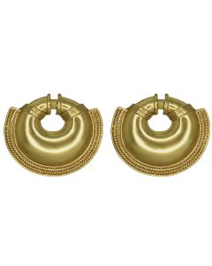 Quimbaya Convex Nose Ring Earrings