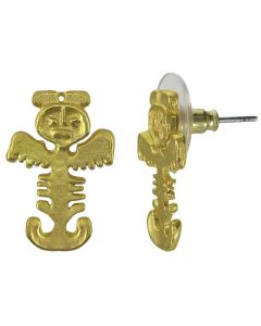 Tolima Zoomorphic Figure Earrings (S)