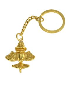 Ancient Aliens Collection, Pre-Columbian Golden Jet-7 / Ancient Aircraft-7 /Golden Flyer-7 Key Chain