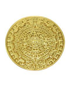Aztec Solar Calendar Pin/Pendant by ACROSS THE PUDDLE