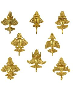 Pre-Columbian Eight Golden Jets Military Pins Bundle by Across The Puddle