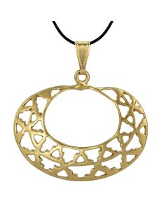 Geometric Ornament Pendant by ACROSS THE PUDDLE