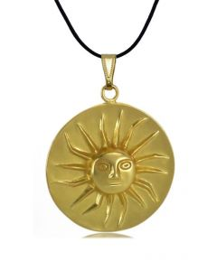 Pre-Columbian Muisca Shining Sun (M) Pendant by ACROSS THE PUDDLE