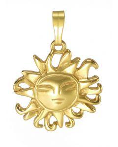 Pre-Columbian Muisca Radiant Sun Pendant